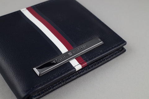 Tommy Hilfiger Small Stripe Card Wallet