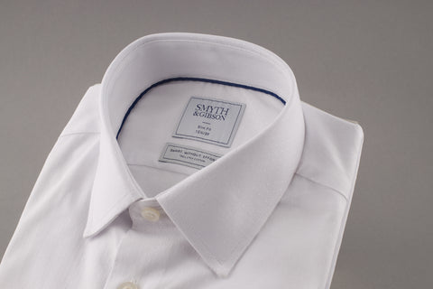 Smyth & Gibson Ermes White Cotton Shirt