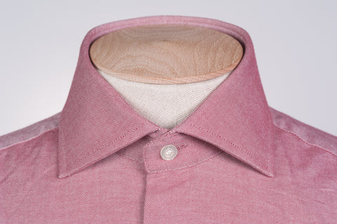 Smyth & Gibson S.W.E. Peached Twill Contemporary Fit Shirt in Red