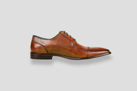 Remus Uomo Bonuci Shoe in Tan