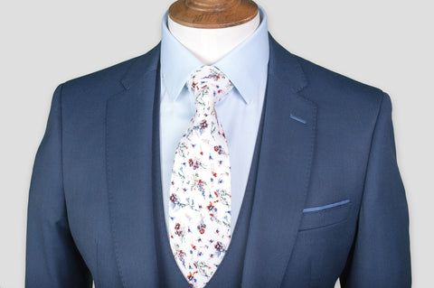 Remus Uomo Slim Fit Wool-Blend Stretch Mix & Match Suit Jacket in Navy