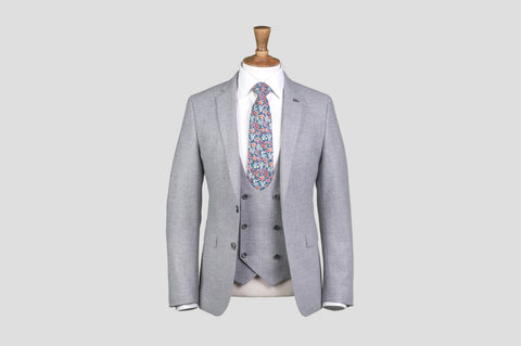 Remus Uomo Slim Fit Wool-Blend Mix & Match Suit Jacket in Grey