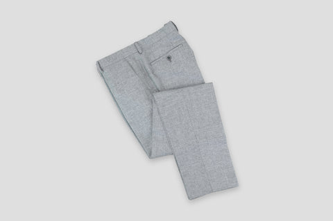 Remus Uomo Slim Fit Wool-Blend Mix & Match Suit Trousers in Grey - Smyth & Gibson Shirts