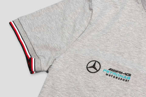 Tommy Hilfiger x Mercedes Benz Crew Neck T-Shirt in Grey