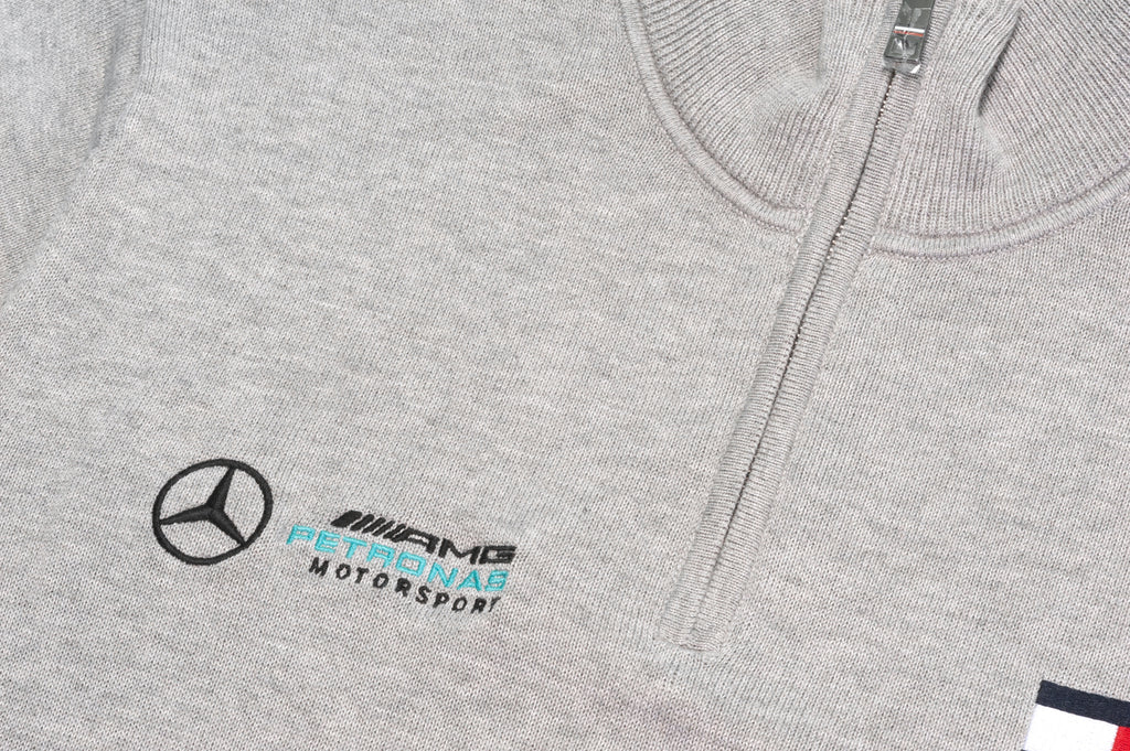 15d4953b Tommy Hilfiger x Mercedes Benz Logo Zipped Jumper in Grey – Smyth ...