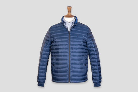 Tommy Hilfiger Long Sleeve Padded Jacket in Blue