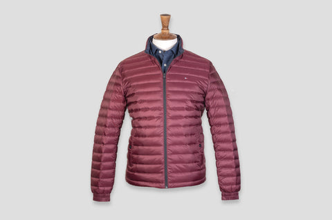 Tommy Hilfiger Long Sleeve Padded Jacket in Red