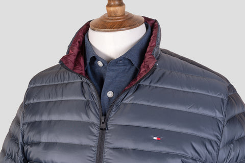 Tommy Hilfiger Long Sleeve Padded Jacket in Green