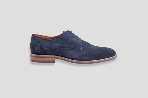Tommy Hilfiger Classic Suede Derby Shoes in Midnight