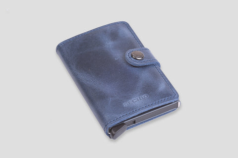 Secrid Miniwallet in Vintage Blue