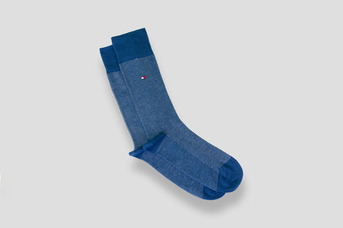 Tommy Hilfiger 2-Pack Socks in Blue & Navy - Smyth & Gibson Shirts