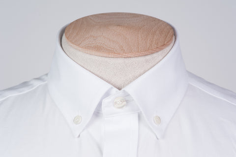 Smyth & Gibson Royal Oxford Button-Down Slim Fit Shirt in White