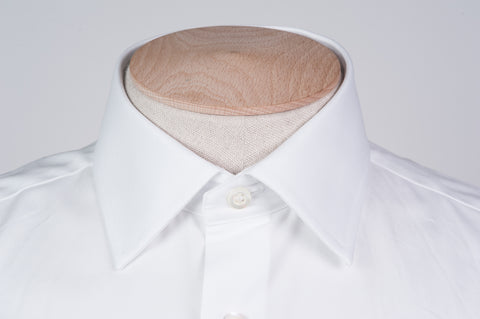 Smyth & Gibson Royal Twill Double Cuff Slim Fit Shirt in White