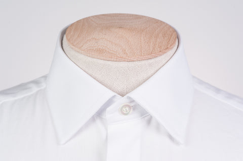 Smyth & Gibson Royal Oxford Classic Collar Slim Fit Shirt in White