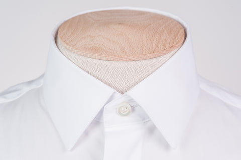 Smyth & Gibson Stretch Poplin Tailored Fit Shirt in White