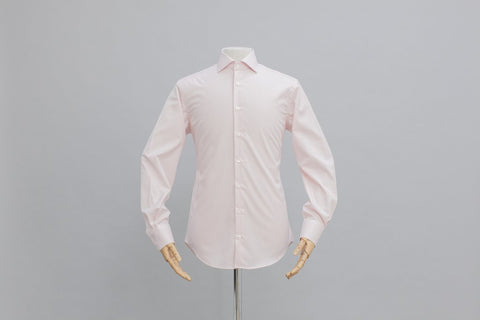 Smyth & Gibson S.W.E. Non-Iron Gingham Double Cuff Shirt in Pink