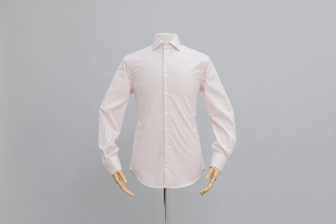 Smyth And Gibson Mens Non-Iron Pink Gingham Check 100% Cotton Shirt - Smyth & Gibson Shirts