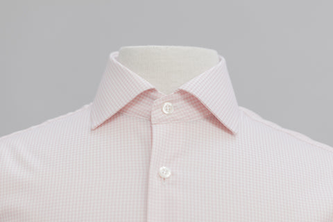 Smyth & Gibson S.W.E. Non Iron Gingham Check Shirt in Pink - Smyth & Gibson Shirts