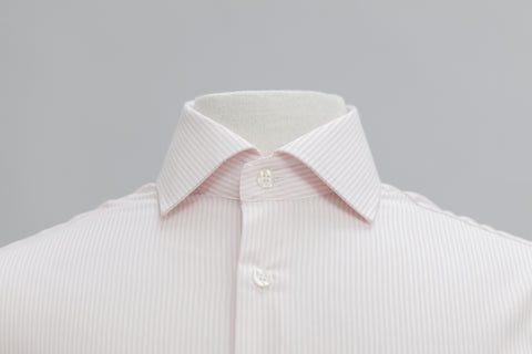 Smyth & Gibson S.W.E. Non-Iron Bengal Stripe Contemporary Fit Shirt in Pink - Smyth & Gibson Shirts