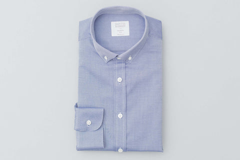 Smyth and Gibson Royal Oxford Button Down Shirt In Navy - Smyth & Gibson Shirts