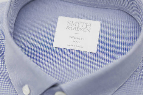 Smyth and Gibson Royal Oxford Button Down Shirt In Navy