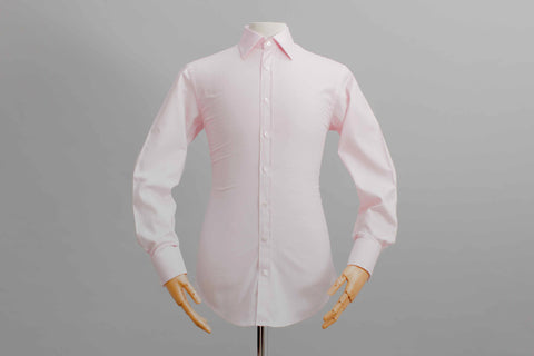 Smyth and Gibson Twill Tailored Fit Shirt In Pink