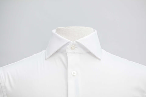 Smyth & Gibson S.W.E. Non Iron Plain Twill Slim Fit Shirt in White