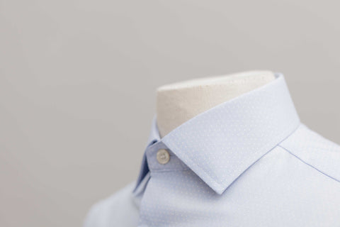 Smyth & Gibson S.W.E. Non Iron End on End Dobby Contemporary Fit Shirt in Sky Blue - Smyth & Gibson Shirts