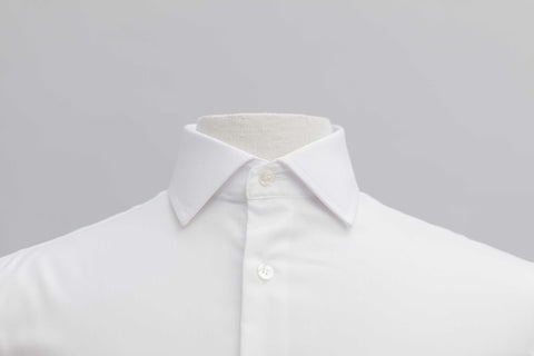 Smyth & Gibson S.W.E. Non-Iron Plain Twill Contemporary Fit Shirt in White
