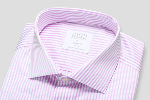 Smyth & Gibson Bengal Stripe Shirt in Pink - Smyth & Gibson Shirts