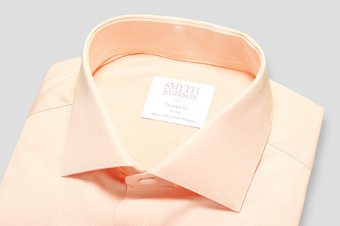 Smyth & Gibson Micro Gingham Shirt in Flamenco Orange - Smyth & Gibson Shirts