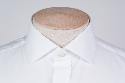 Smyth & Gibson Traveller Oxford Tailored Fit Shirt in White