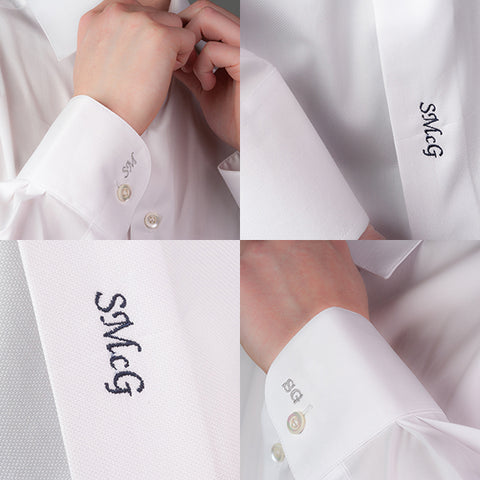 Smyth & Gibson Shirt Monogram Embroidery Service