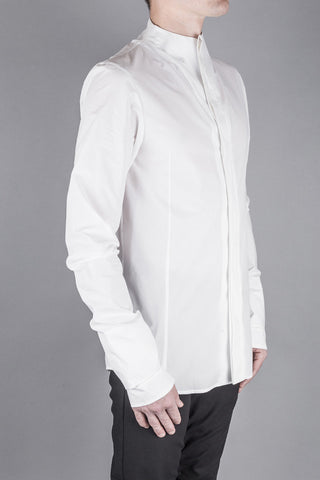 Minimal shirt with cuff detail