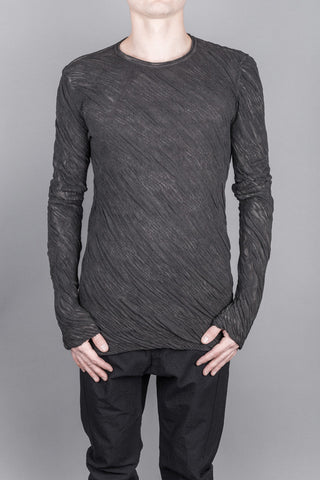 Double layer long-sleeve t-shirt