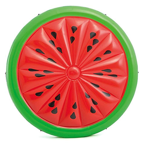 "Inflatable Watermelon Pool Float Floatie Adult 72"" X 9"""