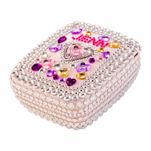Blinged Out Crystal GlamPact  – QUEEN OF HEARTS