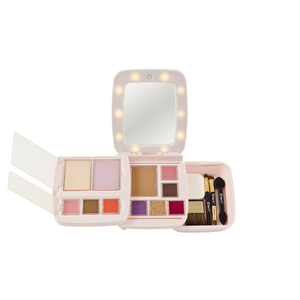 GlamPact LED Light Up Palette – Elegant (All In One)