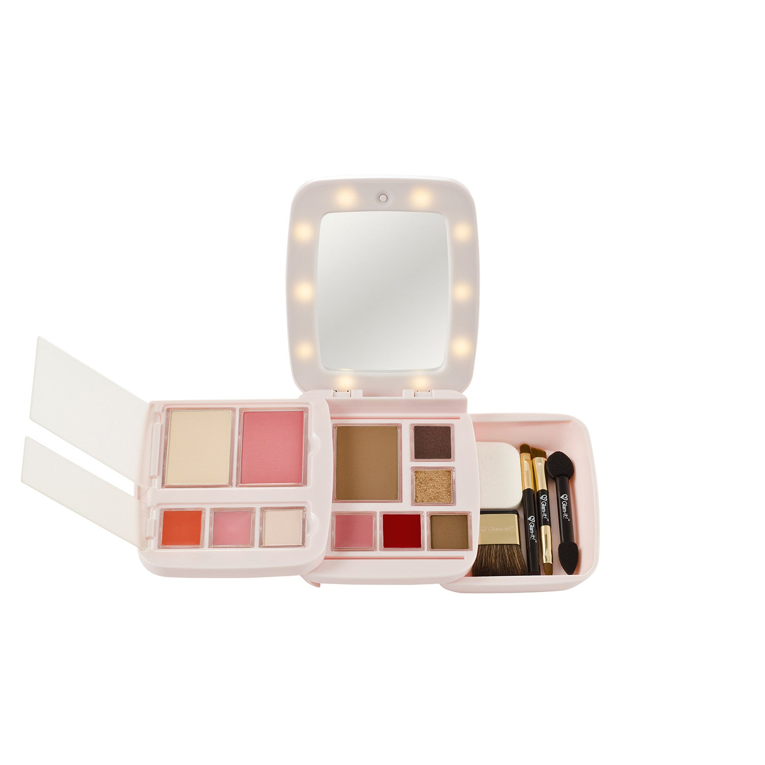 GlamPact LED Light Up Palette –  Sweet (All In One)