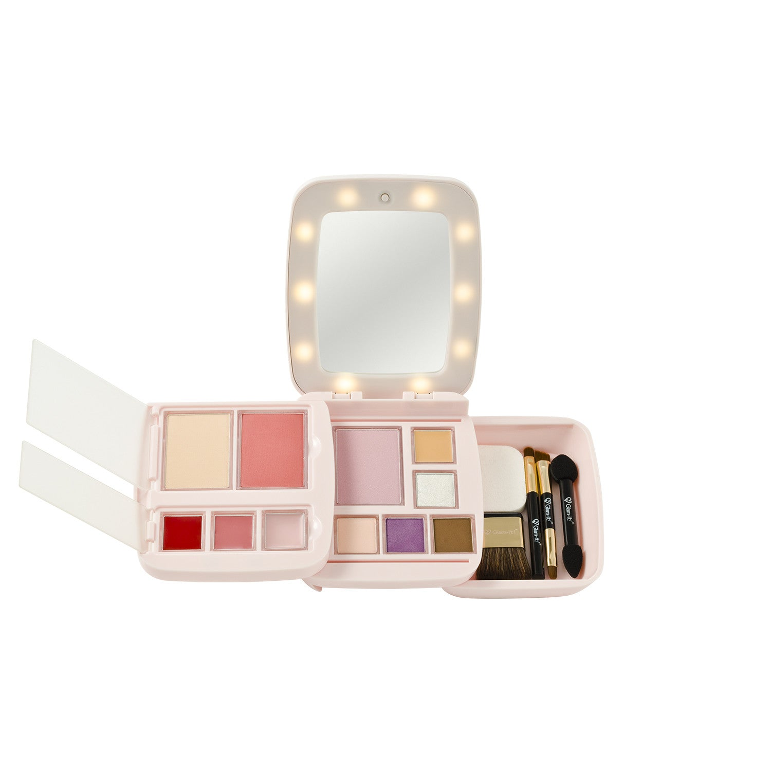 GlamPact LED Light Up Palette – Light (All In One)