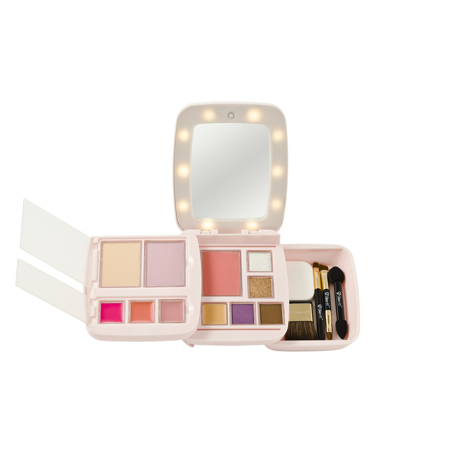 GlamPact LED Light Up Palette – Miss Glam (All In One)