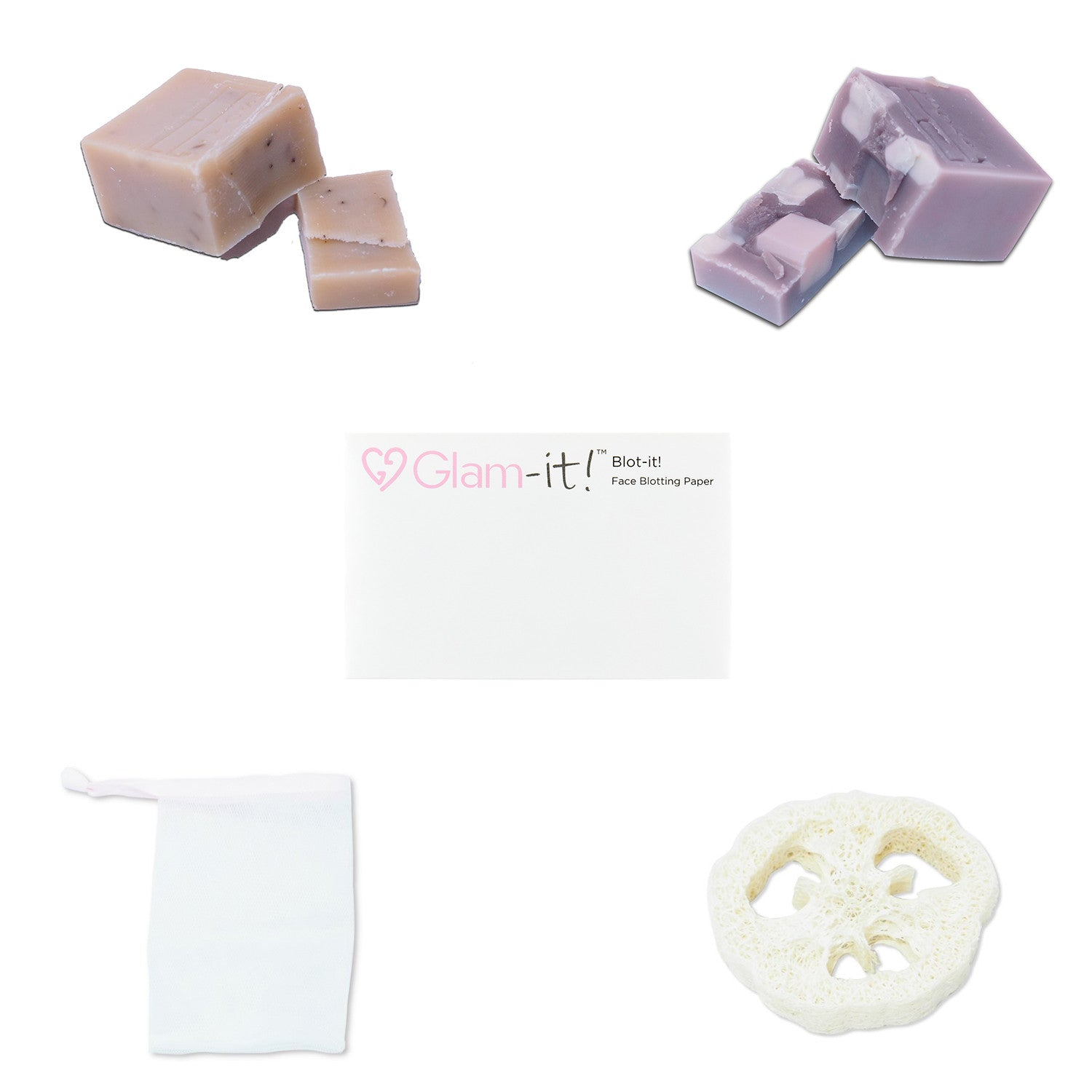 Happy Baby and Smooth Lavender Soap Set