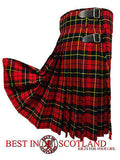 Wallace Tartan 8 Piece Highland Kilt Outfit Package - 5 Yard Kilts -  - Best In Scotland - 3