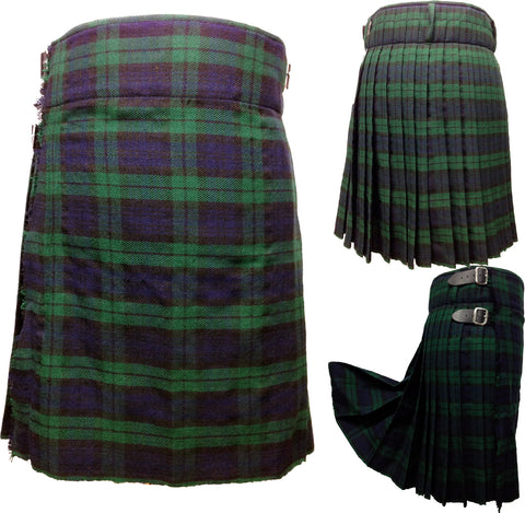 Men's Black Watch 5 Yard Kilt - 5 Yard Kilts -  - Best In Scotland