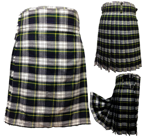 Men's Gordon Dress 5 Yard Kilt - 5 Yard Kilts -  - Best In Scotland