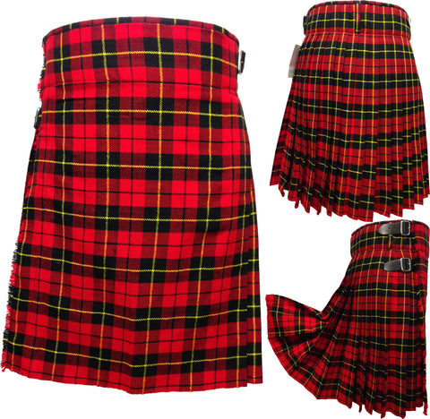 Men's Wallace 5 Yard Kilt - 5 Yard Kilts -  - Best In Scotland