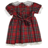 Girls' Red Tartan Sunday Dress - Kids Clothing -  - Best In Scotland - 3