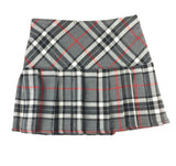 Kids Gray and White Tartan Skirt - Kids Clothing -  - Best In Scotland - 2