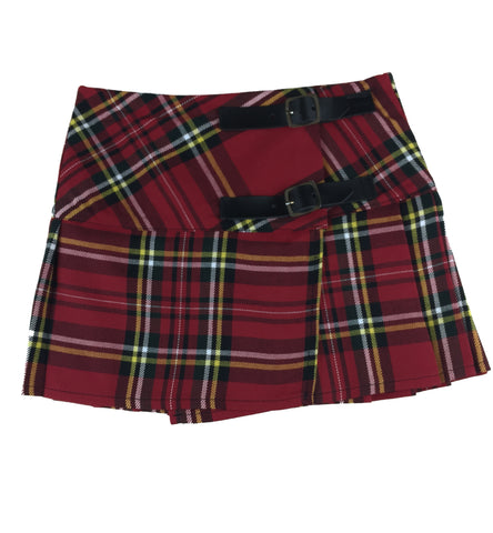 Girls' Royal Stewart Ret Tartan Skirt - Kids Clothing -  - Best In Scotland - 1