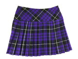 Girls' Purple and White Tartan Skirt - Kids Clothing -  - Best In Scotland - 2